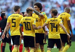 Belgie slaví bronzové medaile z mistrovství světa v Rusku.