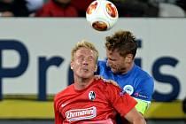Snímek z předchozího zápasu mezi Freiburgem a Libercem.