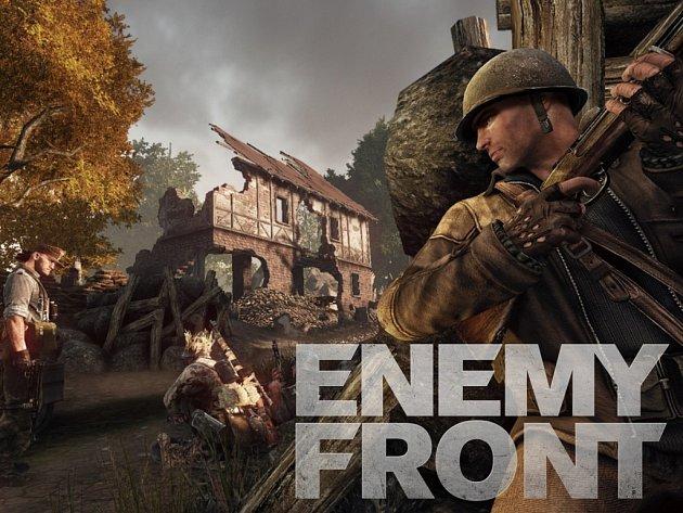 Počítačová hra Enemy Front.