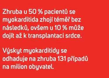 Počty pacientů smyokarditidou
