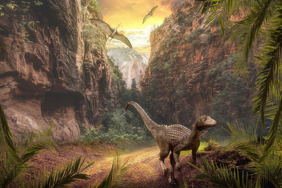 Dinosauři dominovali na Zemi přes 134 milionů let v období druhohor.