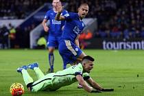Leicester remizoval s Manchesterem City