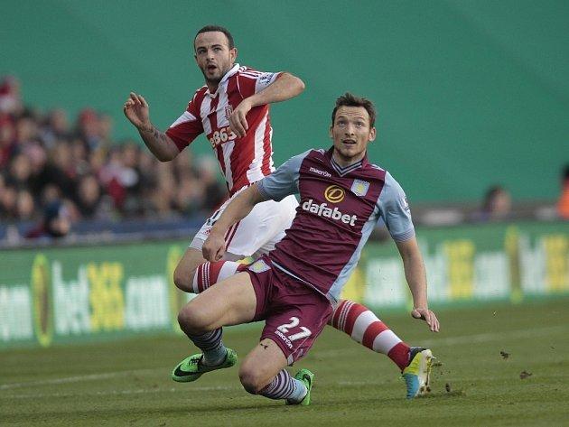 Libor Kozák v utkání proti Stoke