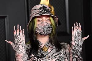 Billie Eilish ovládla letošní ceny Grammy