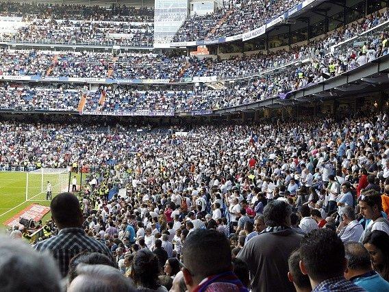 Real Madrid - Barcelona: Pohled do publika