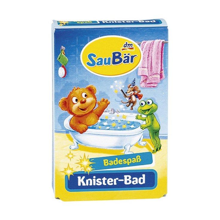 Přísada do koupele Sau Bär Dětská praskající koupel