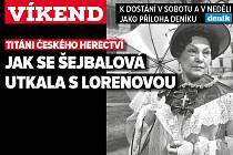 Jiřina Šejbalová, poutání na magazín Víkend