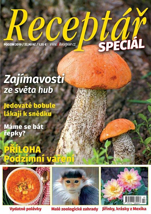 Receptář Speciál Podzim - Houby