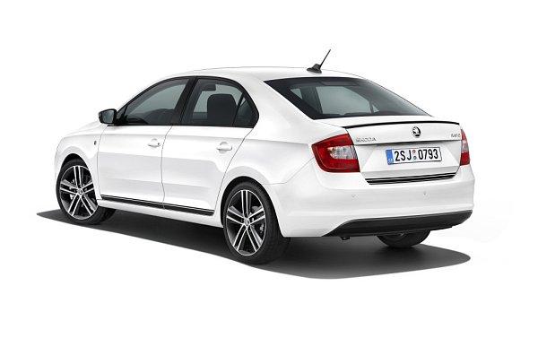 Škoda Rapid ve výbavové variantě StylePLUS.