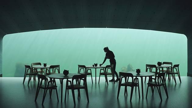 Podmořská restaurace Under se otevřela na jihu Norska.