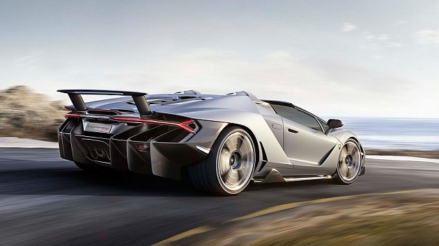 Lamborghini Centenario Roadster.
