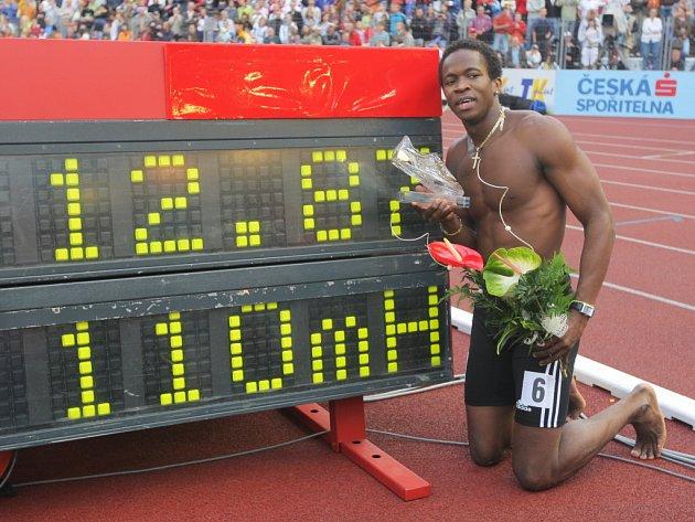 Na atletickém mítinku v Praze se poředstaví i olympijský vítěz v běhu na 110 metrů překážek Dayron Robles.