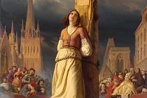 Angličané upálili Janu z Arku 30. května 1431 na náměstí v Rouenu, francouzští šlechtici se marně snažili ji vysvobodit