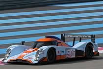 Prototyp Aston Martin LMP1 při testech v Le Castellet.