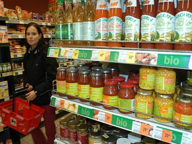 Obliba biopotravin v ČR roste. Brzy je budou prodávat i diskonty.