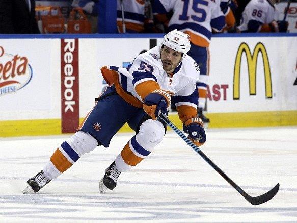 Hokejový útočník Casey Cizikas.