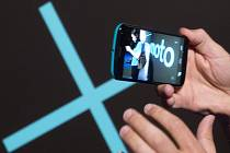 Chytrý telefon Moto X.