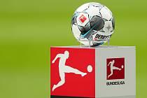 Logo německé fotbalové bundesligy s míčem