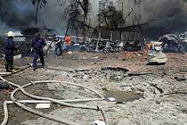 Výbuch v Sýrii - ilustrační foto