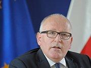 První místopředseda Evropské komise Frans Timmermans.