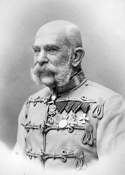 František Josef I. kolem roku 1905