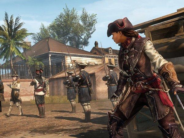 Počítačová hra Assassin'sCreed Liberation HD.