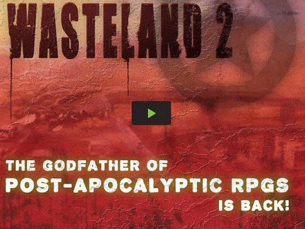 Logo plánované počítačové hry Wasteland.