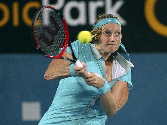 Petra Kvitová při finále v Sydney