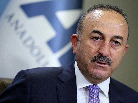 Turecký ministr zahraničí Mevlüt Çavuşoglu.