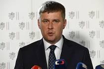Ministr zahraničních věcí Tomáš Petříček (ČSSD).