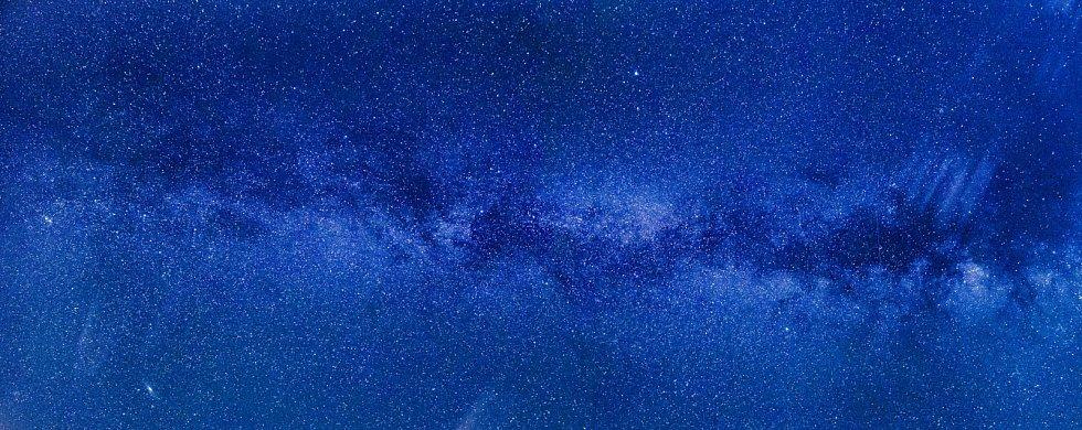 Mléčná dráha - Ilustrační foto