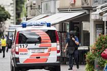 Útok ve švýcarském Schaffhausenu.
