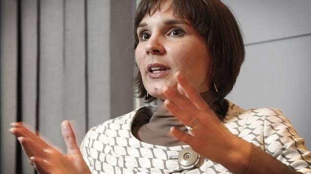 Meteoroložka Dagmar Honsová.