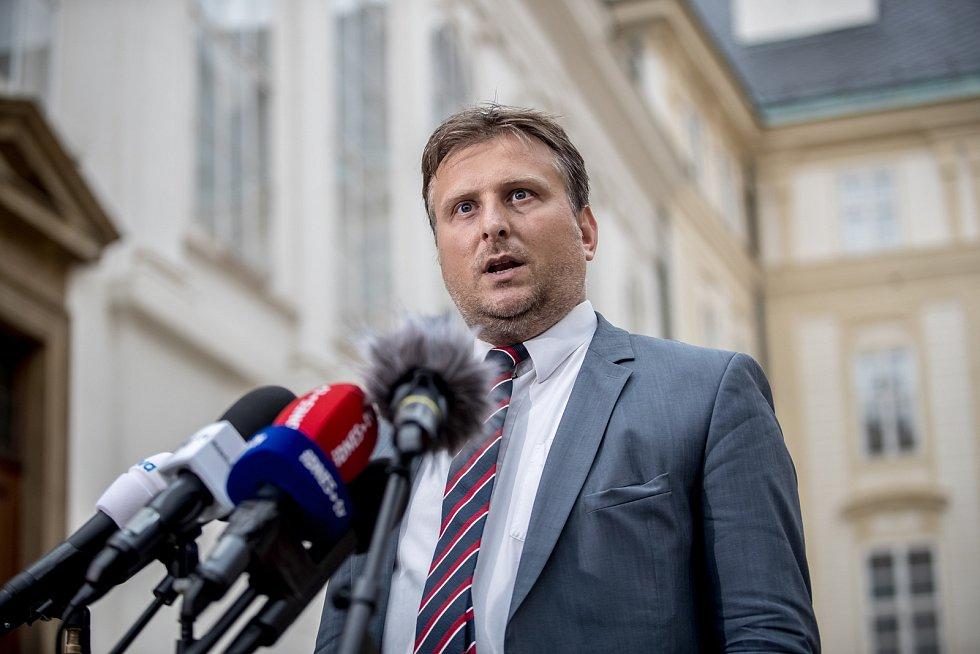 Ministr spravedlnosti Jan Kněžínek.