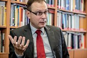 Ústavní právník Jan Kysela poskytl 11. října v Praze rozhovor Deníku.