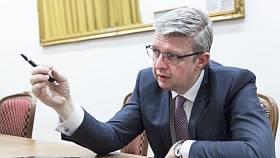 Ministr průmyslu a obchodu Karel Havlíček