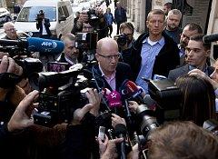 Volby 2017 - štáb ČSSD v Lidovém domě - Bohuslav Sobotka.