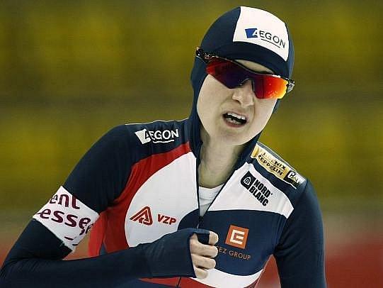 Martina Sáblíková v nový světový rekord ani moc nevěřila.