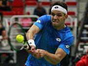 Jiří Veselý v Davis Cupu.