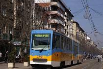 Více než dvacet let staré bulharské tramvaje prošly celkovou obnovou