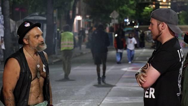 Bezpolicejní zóna ve čtvrti Capitol Hill v americkém Seattlu