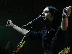Britská kapela Placebo v pražské Lucerně
