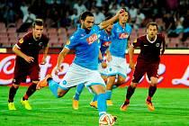 Neapol - Sparta: Vyrovnání na 1:1 z penalty