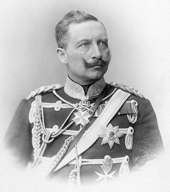 Německý císař Vilém II. Pruský
