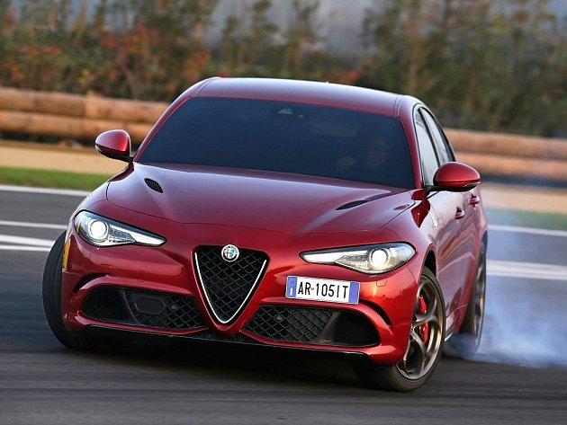 Alfa Romeo Giulia Quadrifoglio.