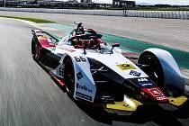 Vůz formule E týmu Audi Sport ABT Schaeffler