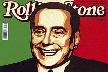 Italská mutace hudebního časopisu Rolling Stone jmenovala italského premiéra Silvia Berlusconiho rockovou hvězdou roku 2009.