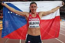 Dvojnásobná mistryně světa. Překážkářka Zuzana Hejnová obhájila v Pekingu zlato z Moskvy.
