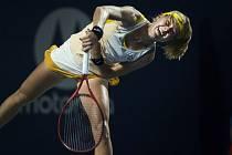 Česká tenistka Marie Bouzková vyřadila 9. srpna 2019 ve čtvrtfinále turnaje v Torontu Rumunku Simonu Halepovou