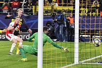 Utkání 6. kola skupiny F fotbalové Ligy mistrů: Borussia Dortmund - SK Slavia Praha, 10. prosince 2019 v Dortmundu